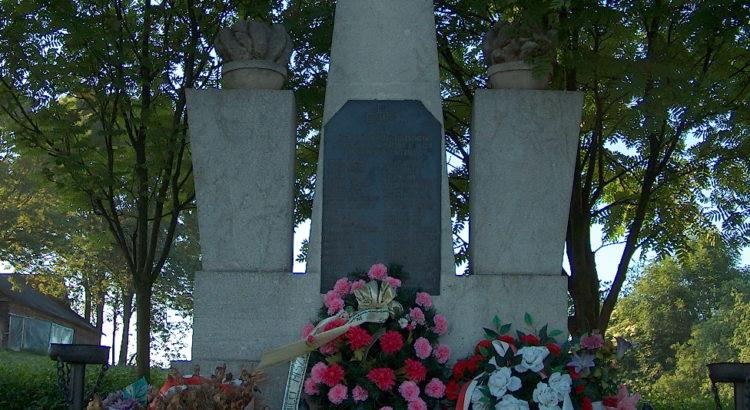 Wierzba pomnik ofiar pacyfikacji